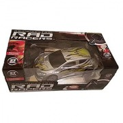 Rad Racers Radio Controlled Racing Car - 49 mhz Grey and Yellow