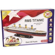 Build-Your-Own Giant 3D Kit - Maqueta del Titanic