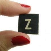 Magnético-Figura decorativa de la letra Z