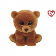 Ty orso peluche brownie collezione beanie boos 15 cm