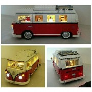SuSenGo Lighting Led Kit for Lego 10220 Volkswagen T1 Camper Van(Lego Set Not Include)
