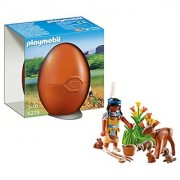 PLAYMOBIL Native American Girl with Forest Animals Playset