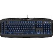Tastatura Gaming Sharkoon Skiller Pro USB LED Albastru