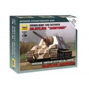 Zvezda Sd. Kfz. 186 Jagdtiger Military small sets makett 1:100 6206