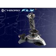 Saitek F.L.Y. 5 Flight Stick :: Джойстик Cyborg F.L.Y. 5 Flight Stick