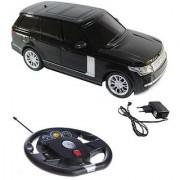SAPRO Rechargeable Remote Control Black Range Rover Car (1-24)