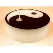 Yin-Yang gyertya 11cm