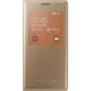 Husa Flip S-View Samsung Galaxy S5 Mini G800 Copper Gold
