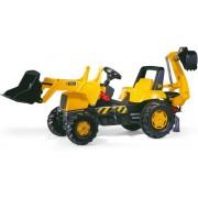 Rolly Toys 812004 RollyJunior JCB Tractor met Lader en Graafmachine
