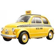 BBURAGO 18-12066 - Fiat 500 Taxi - Gold, Scala 1:18