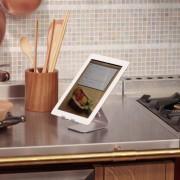 Elago P2 Stand - дизайнерска алуминиева поставка за iPad и таблети (розово злато)