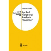 Applied Functional Analysis by Eberhard Zeidler