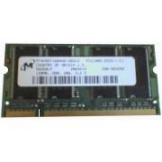 MT - Mémoire x 1 - 128 Mo - SO DIMM 200 broches - DDR - PC2100 (266 Mhz) - 2.5 V - Sans Parité