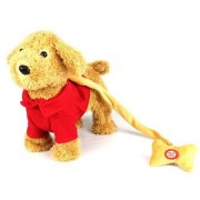 My Dancing Puppy Buddy Puppy Walk Along Toy Stuffed Plush Dog Realistic Dancing & Walking Actions with Music (Colors Ma
