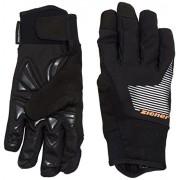 Ziener Guanti da adulto UPS AS Bike Gloves, Unisex, Handschuhe UPS as Bike Gloves, nero, 8.5