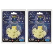 4M Glow-In-The-Dark 60 Mini Stars (Pack of 2) by Toysmith