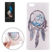 Windbell Pattern TPU Protective Case for Huawei P8 Lite