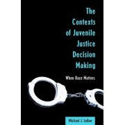 The Contexts of Juvenile Justice Decision Making by Michael J. Leiber