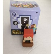 "Minecraft Ice Series 5 Alex With Boat 1"" Mini Figure [Loose]"