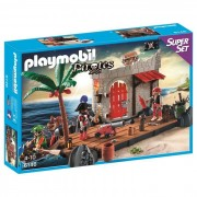 Playmobil 6146 Pirate Fort SuperSet Building Kit