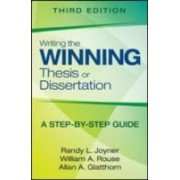 Joyner, R: Writing The Winning Thesis Or Dissertation