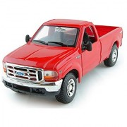 Maisto Special Edition Ford Mighty F350 Super Duty Pickup Truck 1/27 Scale Diecast Model Vehicle Red