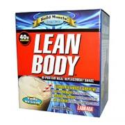 """LEAN BODY ORIGINAL (Vanilleeis) 20 P""""ckchen"""