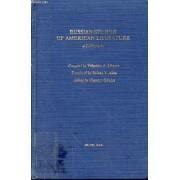 Russian Studies Of American Literature