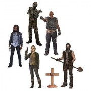 The Walking Dead TV Series 9 Beth Greene Grave Digger Daryl Dixon T-Dog Water Walker and Constable Michonne Action Fi