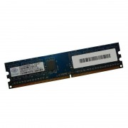 512Mo RAM NANYA NT512T64U88B0BY-3C 240-Pin DIMM DDR2 PC2-5300U 667Mhz 2Rx8 CL5