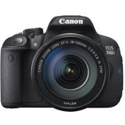 Aparat Foto D-SLR Canon EOS 700D (Negru) cu Obiectiv EF 18-135 STM