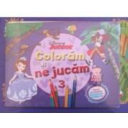Disney Junior - Coloram si ne jucam 3. Planse de colorat cu activitati distractive
