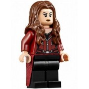 LEGO Super Heroes Marvel Avengers Minifigure - Scarlet Witch with Dual Power Studs (76051)