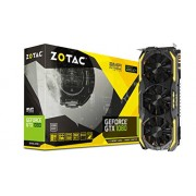 ZOTAC GeForce GTX 1080 8GB AMP! Extreme Edition ZT-P10800B-10P Three DP + HDMI + DVI Scheda Video Gaming VR Ready