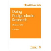 Doing Postgraduate Research by Stephen Potter