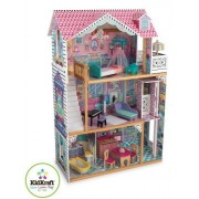 KidKraft Annabelle Dollhouse with Furniture- Constructed From Lightweight Wood- A Classic Three-Story Victorian House- Includes 17 Pieces Of Intricate Furniture- With An Ornate Chandelier