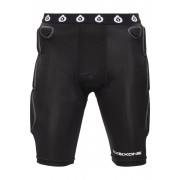 SixSixOne Exo II Short with Pad black XL Protektorenshorts
