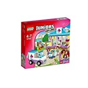 LEGO 10728 Juniors Mia's Vet Clinic Construction Set - Multi-Coloured