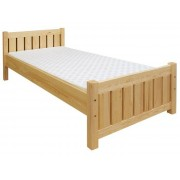 Steiner Shopping Furniture Childrens bed / Youth bed 66, solid pine wood, clearly varnished, incl. slatted