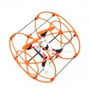 WayIn R/C Drone NH-002 - дрон управляван с отделен контролер (оранжев)