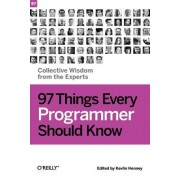 97 Things Every Programmer Should Know by Kevlin Henney