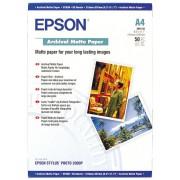 Hartie foto EPSON Archival Matte Paper, DIN A4, 192g/m2, 50 sheets