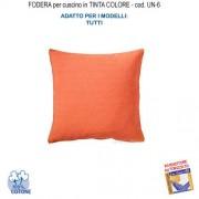 Amaca Casa Giardino Federa In Tinta Per Cuscino Colore Arancione Un-6