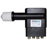 Megasat Multifeed LNB Quad 0.1 dB HD 23mm (mindre än 2° avstånd möjligt)