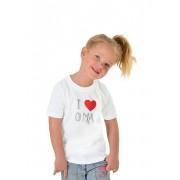 Trigema Mädchen T-Shirt 100% Baumwolle Größe: 104 Material: 100 % Baumwolle, Ringgarn supergekämmt Farbe: weiss