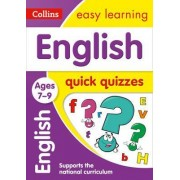 English Quick Quizzes Ages 7-9 by Collins Easy Learning