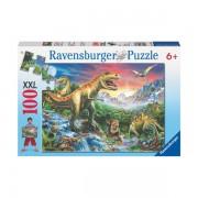 Puzzle epoca dinozaurilor 100 piese