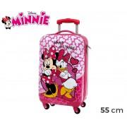 4491451 Trolley bagaglio a mano rigido in AB Minnie & Daisy 55x33x20 cm