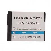 1200mAh 3.6V digitalkamera batteri NP-FT1 Sony DSC-L1 och mer