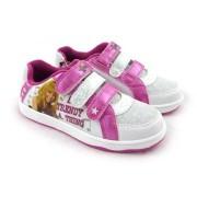 Adidasi Hannah Montana alb roz